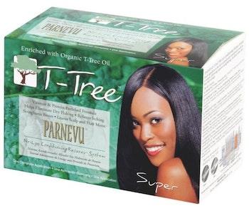 PARNEVU T-TREE NO- LYE CONDITIONING RELAXER (SUPER)