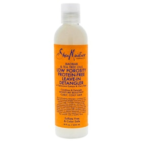 SHEA MOISTURE BAOBAB & TEA TREE OILS LOW POROSITY LEAVE-IN DETANGLER 236ML