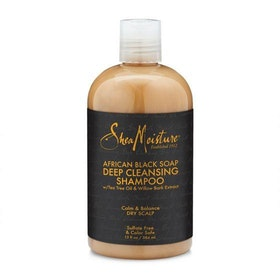 SHEA MOISTURE AFRICAN BLACK SOAP DEEP CLEANSING SHAMPOO 384ML