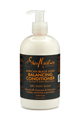 SHEA MOISTURE AFRICAN BLACK SOAP BALANCING CONDITIONER 384ML