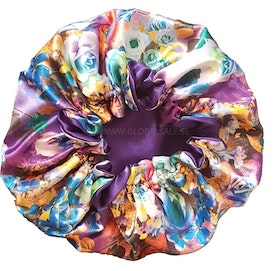 REVERSIBLE SATIN BONNETS (ASSORTED)
