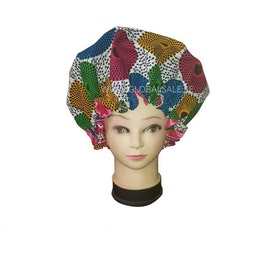 ANKARA SATIN LINED BONNET