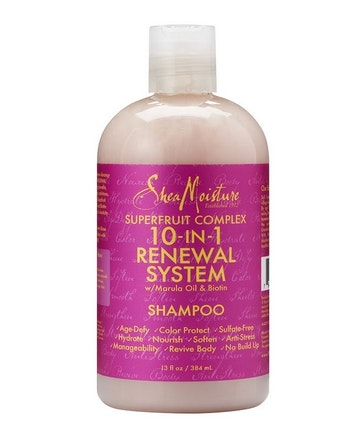 SHEA MOISTURE SUPERFRUIT COMPLEX 10-IN-RENEWAL SHAMPOO 384ML
