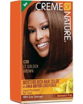 CREME OF NATURE C20 LT GOLDEN BROWN HAIR COLOUR