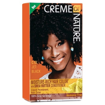 CREME OF NSTURE C10 JET BLACK HAIR COLOUR