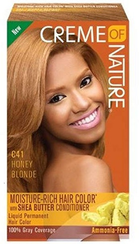 CREME OF NATURE C41 HONEY BLONDE HAIR COLOR