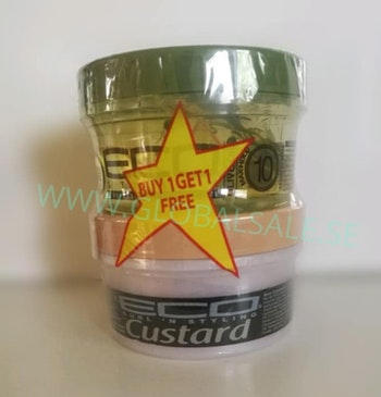 ECOSTYLER MACADEMIA OIL CUSTARD & ECO OLIVE PACK
