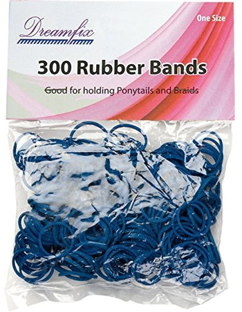 ELASTIC RUBBER BAND BLUE