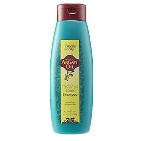 Hawaiian silky argan oil hydrating sleek shampoo