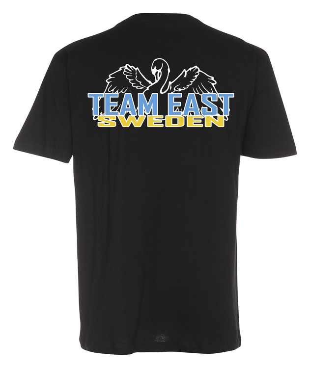 Team East Sweden - Basic T-shirt Svart
