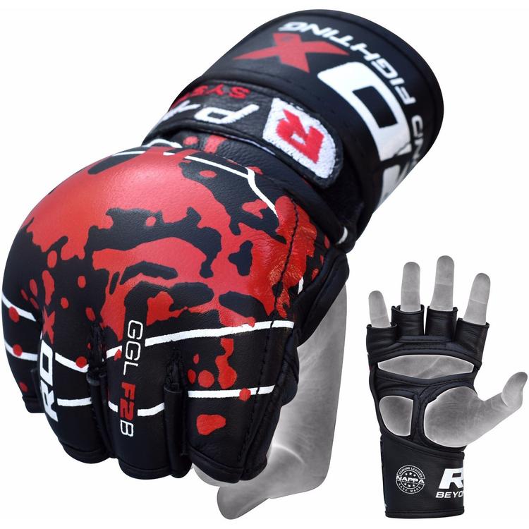 MMA-Handskar - RDX F2 - SMMAF Approved