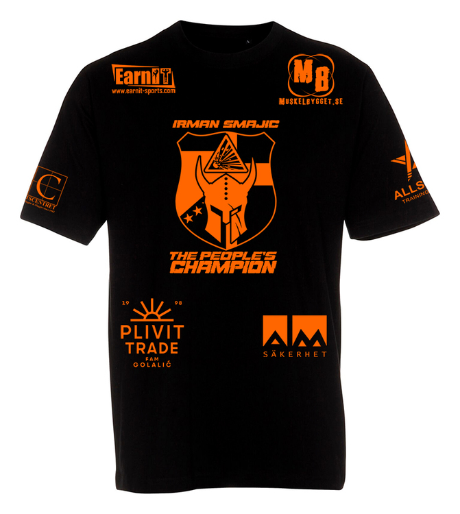 Irman - The People's Champion - Walkout T-shirt