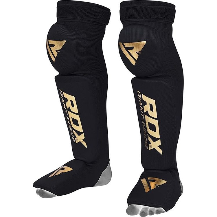 Benskydd -  RDX S3 Shin Instep Guard With Knee Support