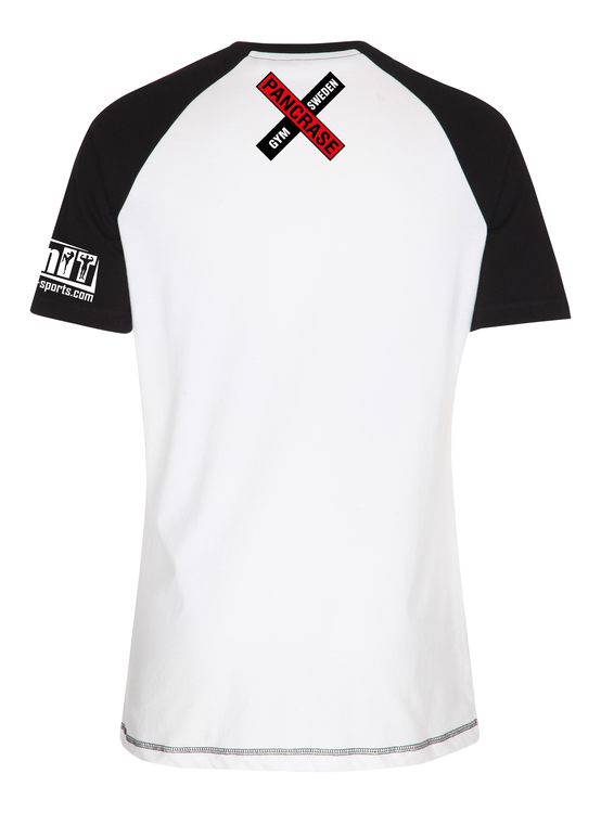 Pancrase Gym - T-shirt Vit/Svart