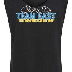 Team East Sweden - Zip-Hoodie Sleeveless