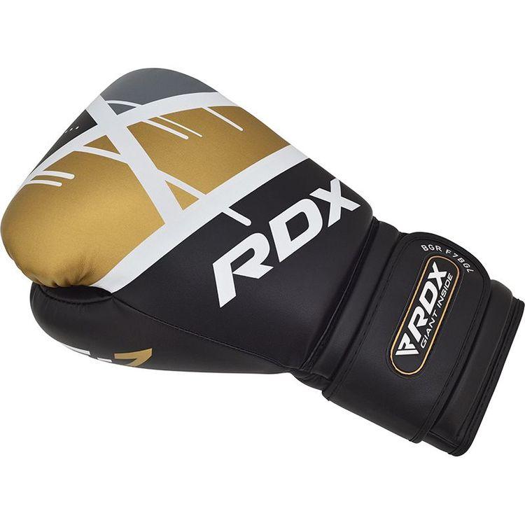 Boxningshandskar - RDX F7 - Black/Gold