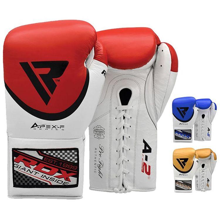 Boxningshandskar - RDX A2 BBBofC Approved Pro Fight Boxing Gloves