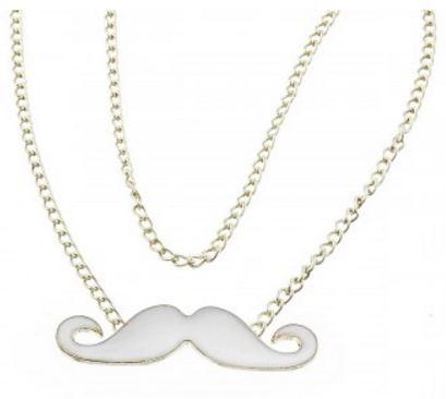 Mustasch halsband