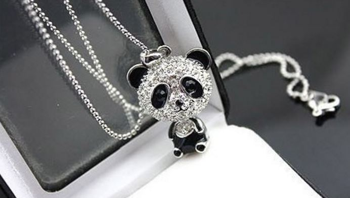 Halsband - Panda