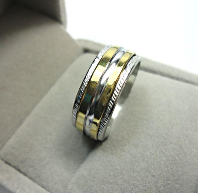 Tidlös ring från EcooLin, rostfritt stål