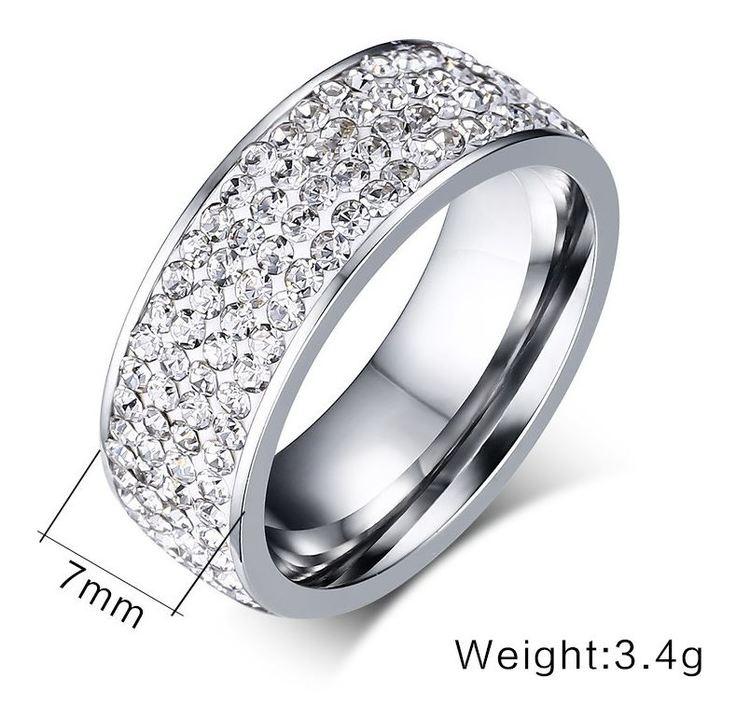 Elegant, klassisk ring. Nickelfri