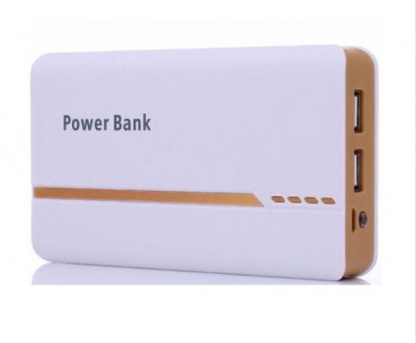 Powerbank 9000 mAh. Inbyggd ficklampa