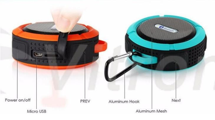 Bluetooth Högtalare - C6