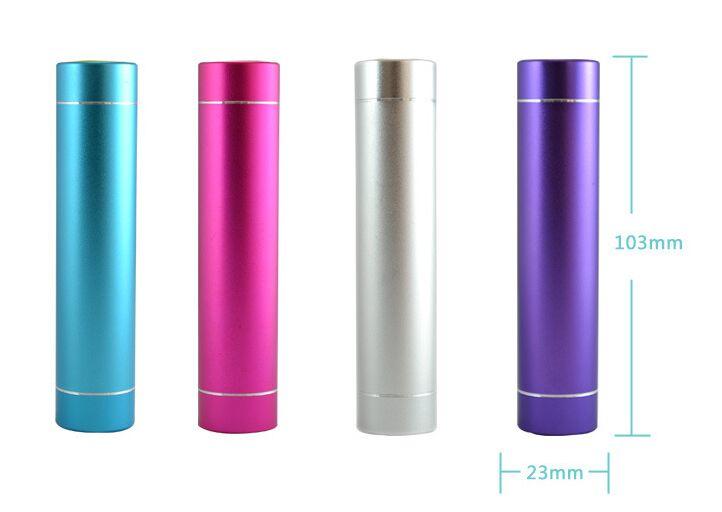 Powerbank 2600 mAh cylinder