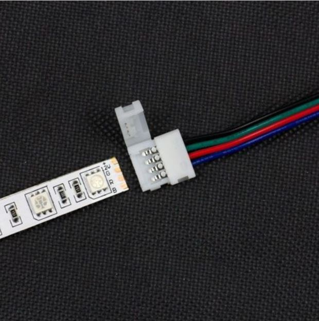 4-pin hona/hane kontakt med kabel