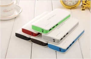 Powerbank BIG 20 000 mAh. Inbyggd LED LAMPA