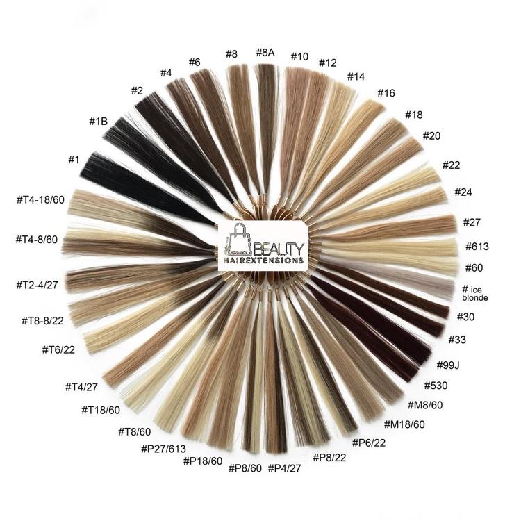 Ryskt cuticle hår - Keratinvax
