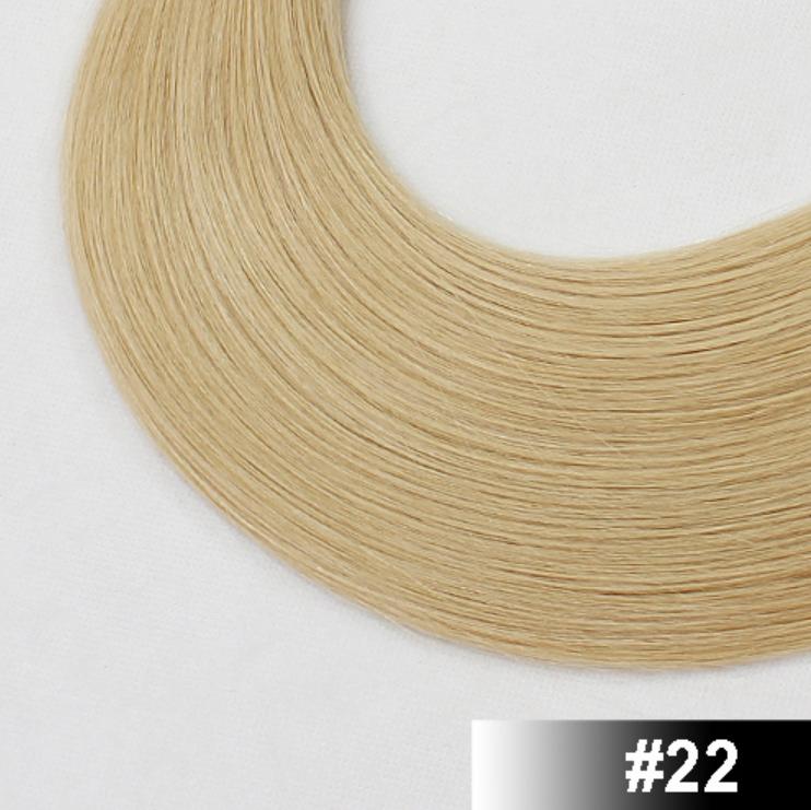 Flat-tip EUROPEISKT hår - 120g