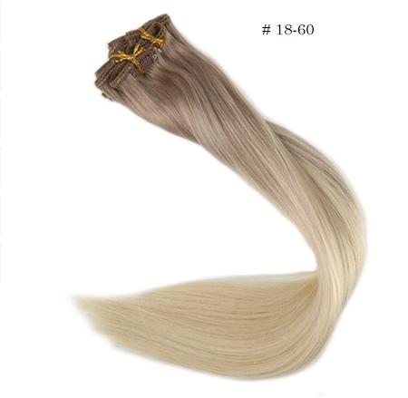 Balayage clips 120g