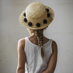 LE POM - STRAW HAT