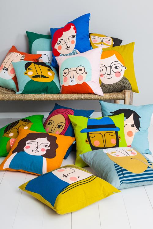 Frank cushion