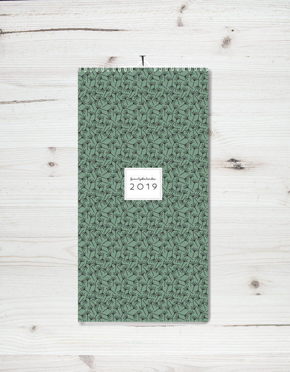 Family calendar 2019