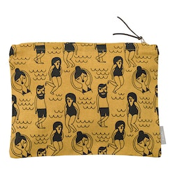 Toilet bag yellow medium