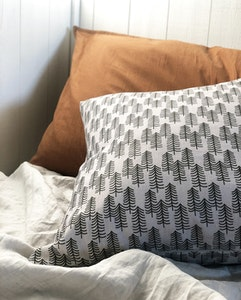Barra gray linen cushion