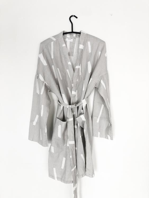 Kimono Strössel Grå