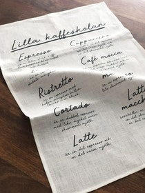 Kaffeskolan kitchen towel