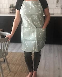 Terrazzo apron
