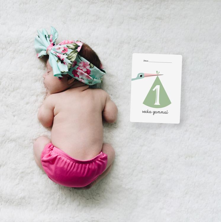 Ögonblick babykort