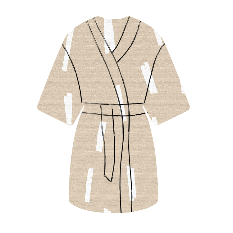 Kimono Strössel sand