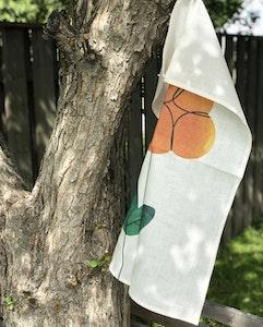 Cloudberry kitchen towel