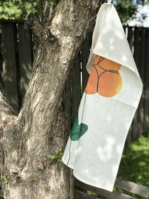 Cloudberry kitchen towel