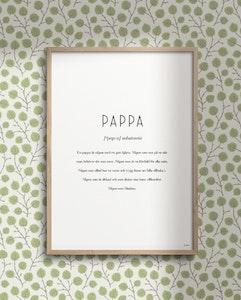 Substantiv pappa