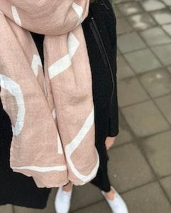 Shawl Hazel pink