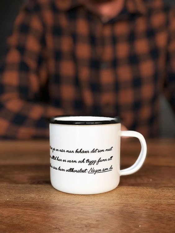 Dad enamel mug