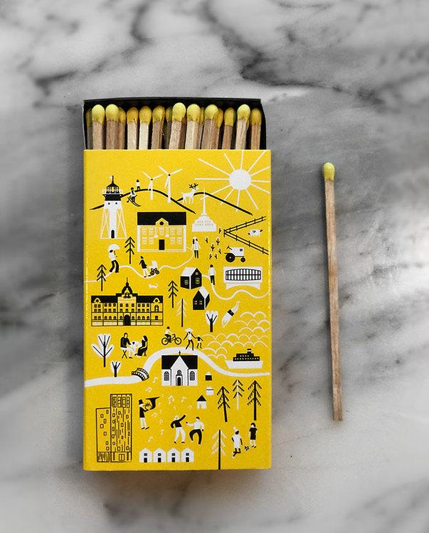 Match box Piteå 400 years