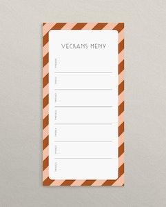 Magnetic pad Menu Stripe